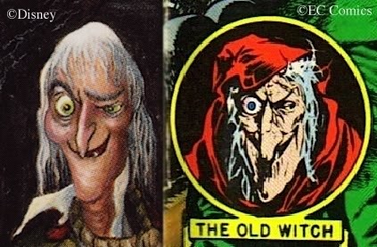 Hatchet Man from the Mansion, vs. EC's Old Witch