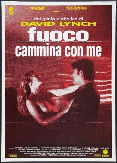 FUOCO COMMINA CON ME - Italian Poster